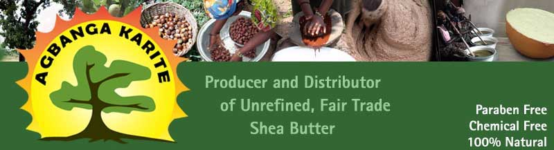 Producer and Distributor of Unrefined, Handcrafted, Fair Trade Shea Butter. Chemical Free, No Parabens, All Natural.